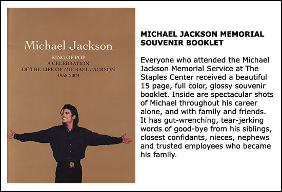 MJ Souvenir Booklet